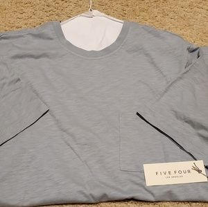 Other - Five Four Teal Blue Summer Tee